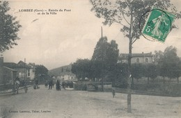 CPA - France - (32) Gers - Lombez - Entrée Du Pont Et De La Ville - France