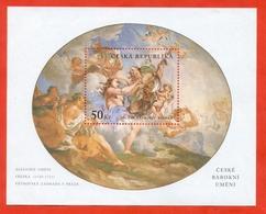 Czech Republic 2001.Baroque Art. Block. Unused Stamp. - Art