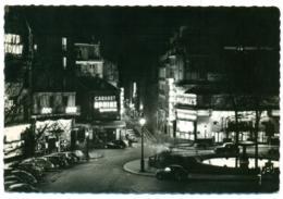 PARIS La Nuit Place Pigalle. Cabaret SPHINX, Bar La Nouvelle Athènes, Eve. - Paris La Nuit