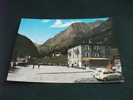 AUTO CAR ALBERGO ITALIA VALLE MAINA CANOSIO CUNEO SUL PIAZZALE GIOCO DELLE BOCCE - Alberghi & Ristoranti