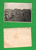 AOI Arrivo A Dessiè 1936 Campo Accampamenti Regio Esercito E Alpini - Guerra, Militari