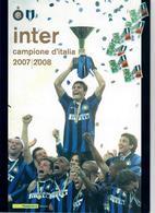 ITALIA 2008 - FOLDER   INTER CAMPIONE D'ITALIA  - SPEDIZIONE GRATIS - 6. 1946-.. Republic