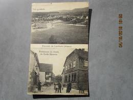 CPA 67  Alsace Souvenir De  LEMBACH - Restaurant Du Soleil De Emile Ehrstein , Vue Générale  écrite Et Timbrée 1923 - Other Municipalities