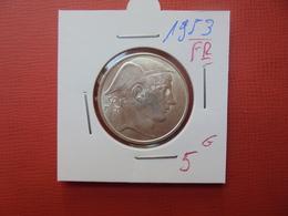 Baudouin 1er :20 FRANCS ARGENT 1953 FR BELLE QUALITE - 07. 20 Francs