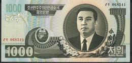KOREA NORTH P45a 1000 WON 2006 Wmk=Arch Of Triumph Head On View UNC. - Korea, North