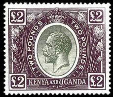 Kenya & Uganda, 1925, £2 Dark Violet  ,SG .96 , MNH ** - Kenya, Uganda & Tanganyika