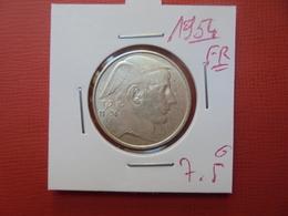 Baudouin 1er :20 FRANCS ARGENT 1954 FR (DATE PLUS RARE) - 07. 20 Francs