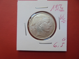 Baudouin 1er :20 FRANCS ARGENT 1954 VL (DATE PLUS RARE) - 07. 20 Francs