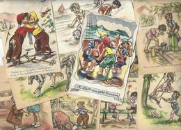 Lot 1684 De 10 CPA Germaine Bouret Déstockage Pour Revendeurs Ou Collectionneurs - Cartes Postales