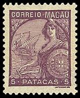 Macau , 1934 , 5p Mauve , SG. 358, , MNH ** - Unclassified