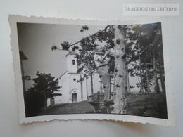 ZA194.27 Old Photo -  Hungary  Vonyarcvashegy Szt. Mihály Kápolna St. Michael Chapel  1939 - Lieux