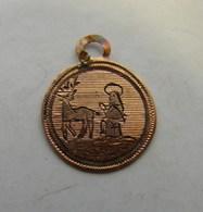Rel. 12. Mini Médaille De Saint Hubert - Religion & Esotérisme