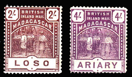 Madagascar ,1895 , Uncomplete Set To 4/, SG57/62, MNH ** - Unclassified