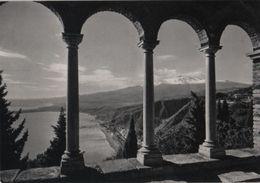 Italien - Taormina - Giardini Pubblici Con Etna - Ca. 1965 - Messina