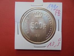 Baudouin 1er :500 FRANCS 1991 FR  ARGENT FDC !!! - 1951-1993: Baudouin I