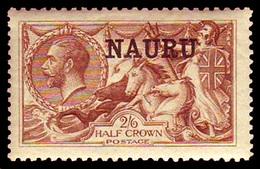 Nauru , 1916 ,  2/6 , Brown SG#13,  MNH ** - Unclassified