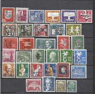 G918-SELLOS DE ALEMANIA + 20,00€ DENOMINACION SARRE MONEDA FRANCESA,TERRITORIO FRANCO ALEMAN.CON SERIES COMPLETAS,SIN TA - 1957-59 Estado Federado