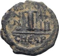 IMPERIO BIZANTINO. JUSTINO II Y SOFÍA. 10 NUMMI. CONSTANTINOPLA - Bizantinas