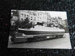 """Tram : Rotterdam-Oosterkade (1947), """" Nieuw Amsterdam """" Op Tramrails, Non Circulée  (X7) - Tramways"""