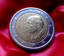 Greece 2016 2€ Euro Bi-metallic Commemorative Coin Dimitris Mitropoulos  Coin  CIRCULATED - Griechenland