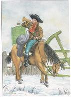 Mounted Postboy - (England) - Post