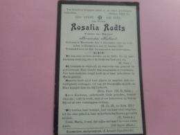 D.P.-ROSALIA RODTS °MOERKERKE 8-12-1831+KNESSELARE 12-1-1906 - Religion & Esotérisme