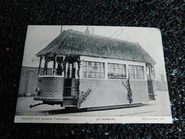 Tram : Wedstrijd Voor Versierde Tramwagens, De Herberg, Schevenirgen 1908, Non Circulée  (X7) - Tramways