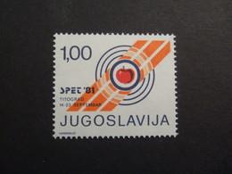 YUGOSLAVIA 1981  MI 76  EU ARCHERY. 1981 MNH** (P02-nvt) - Archery