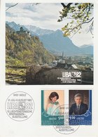 Liechtenstein 1982 Liba '82 Maxicard (42411) - Maximumkaarten