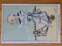 Carte Postale Caricature Clémenceau L'homme Enchainé 1915 - France