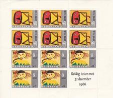 Netherlands Niederlande Pays-Bas 1965 Mi. Bl.3 Block* See Scan - Blocs
