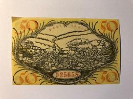 Allemagne Notgeld Baden Baden 50 Pfennig - [ 3] 1918-1933 : République De Weimar
