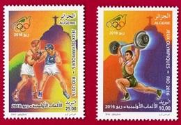 Année 2016-N°1747/1748 Neufs**MNH  : Jeux Olympiques RIO 2016 - Algeria (1962-...)