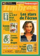 Timbroscopie N° 1 (fusion Avec Le Monde Des Philatélistes) Dossier Briat ... Le Premier Numéro ! - Français (àpd. 1941)
