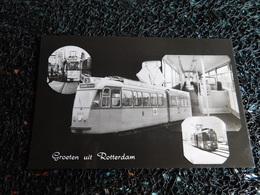 Tram : Groeten Uit Rotterdam,  Non Circulée  (X7) - Tramways