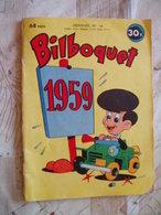BILBOQUET NO 14-  02/1959 -DEL DUCA-BANDES ANIMALIERES-DIVERS - Other Magazines
