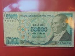 TURQUIE 50.000 LIRA 1970(89) CIRCULER - Turquie