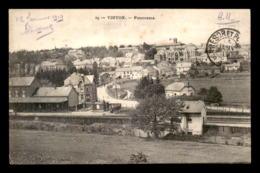 BELGIQUE - VIRTON - PANORAMA - LA GARE DE CHEMIN DE FER - Virton