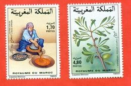Maroc 1993. Argan Oil. Unused Stamps. - Food