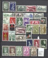 G920-+ DE 30,00€ SELLOS DE ALEMANIA CON DENOMINACION SARRE MONEDA FRANCESA,TERRITORIO FRANCO ALEMAN.CON SERIES COMPLETAS - 1957-59 Estado Federado