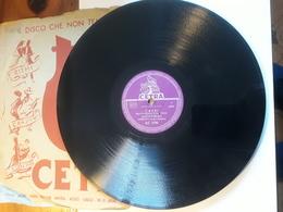 Cetra   -  1956.  Serie AC  Nr. 3108  -   Achille Togliani - 78 Rpm - Schellackplatten