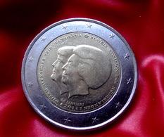 NEDERLAND 2013 2€ Euro Bi-metallic Commemorative  Reine Béatrix Prince Willem Alexander  Coin  CIRCULATED - Niederlande