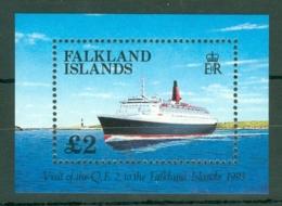 Falkland Is: 1993   Visit Of QE II (liner)  M/S  MNH - Falkland Islands