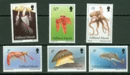 Falkland Is: 1994   Inshore Marine Life Set   SG701-712    MNH - Falkland Islands