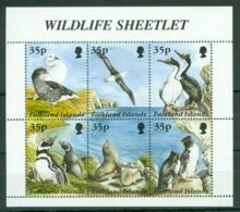 Falkland Is: 1995   Wildlife  MNH Sheetlet - Falkland Islands