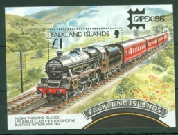 Falkland Is: 1996   CAPEX 96 International Stamp Exhibition M/S   MNH - Falkland Islands