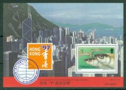 Falkland Is: 1997   HONG KONG 97 International Stamp Exhibition  M/S   MNH - Falkland Islands