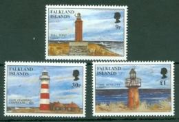 Falkland Is: 1997   Lighthouses   MNH - Falkland Islands