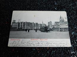 Tram : Scheveningen, Kurhausplein, Palace Hotel, 1905   (X7) - Tramways