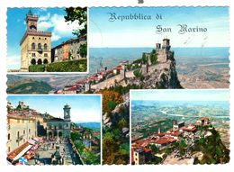 San Marino  Used 19-6-1966, Nice Franking - San Marino